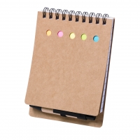Eco Notepad 326 (lined sheets, small sticky notes and mini sticky note) - hmi29326